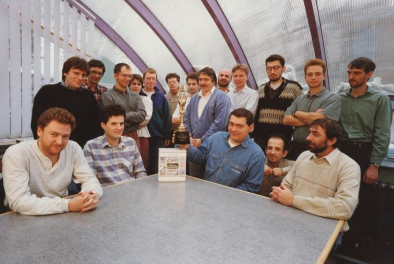 Команда разработчиков ArchiCAD 4.55. 1994