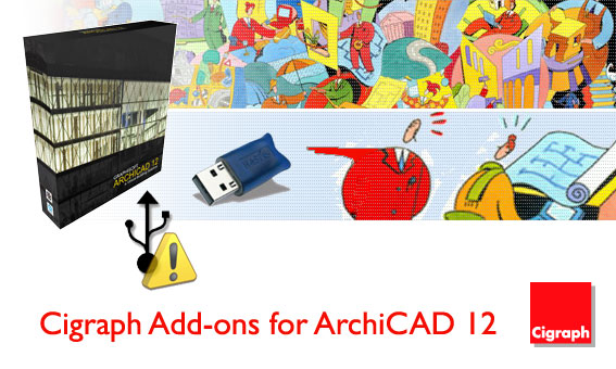 Cigraph Add-ons для ArchiCAD 12