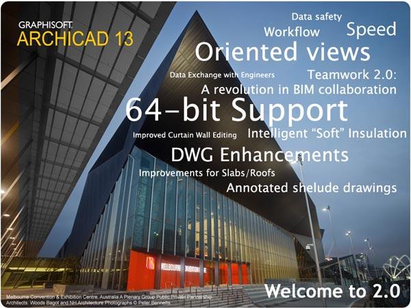 Graphisoft ArchiCAD/Архикад версия 13 + Goodies, Cigraph AddONs, CadimageTo
